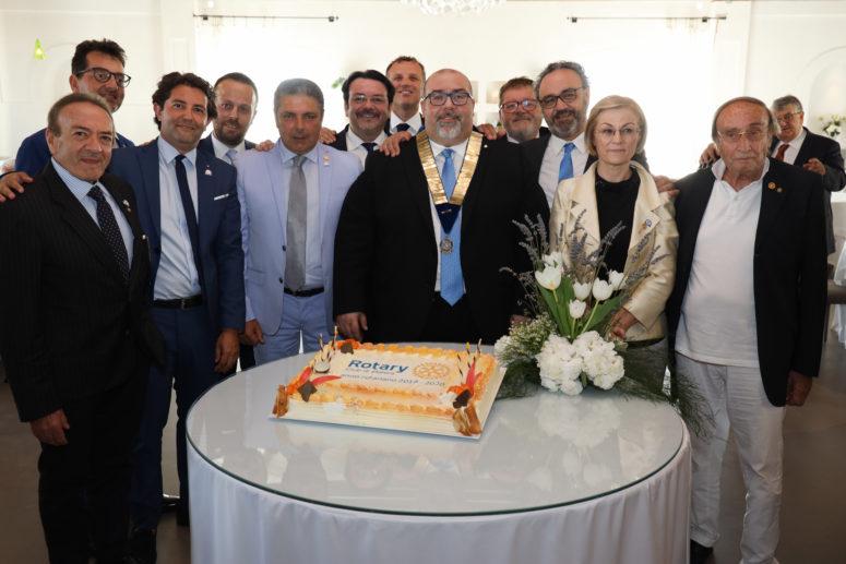 Rotary Club di Matera_Raffaele Braia, Nuovo Presidente