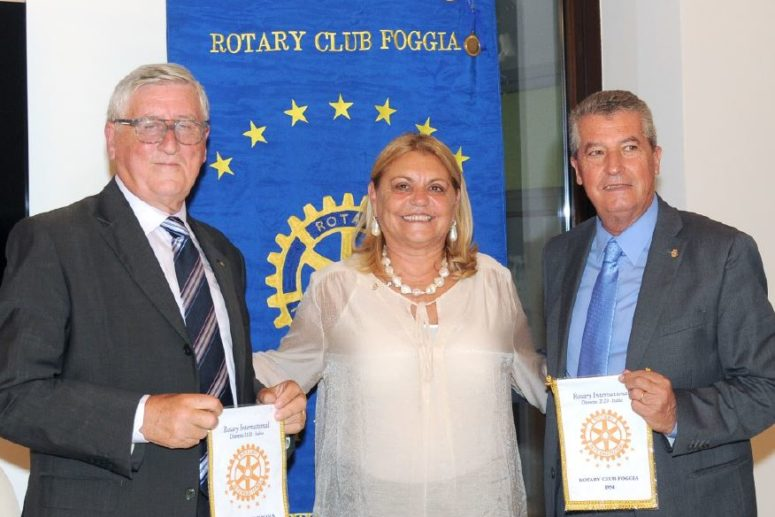 Rotary Club Foggia con il PDG Gianni Lanzilotti District Trainer