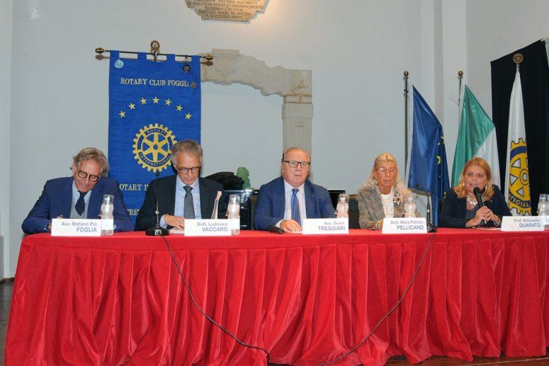 Il Rotary Club Foggia sui problemi edilizi del Tribunale di Foggia