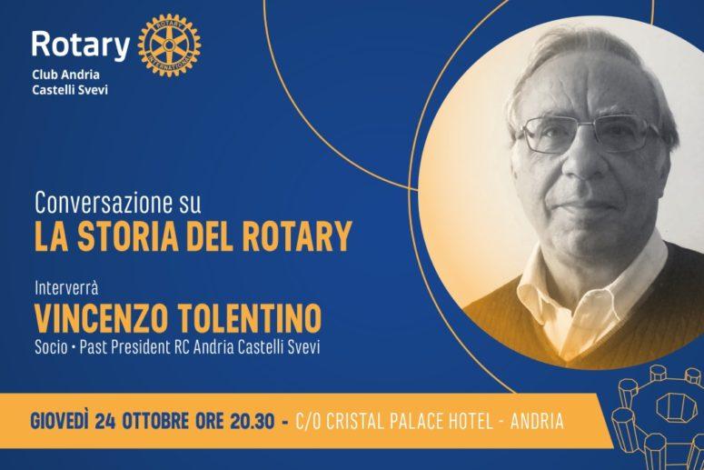 """Conversazione """"La Storia del Rotary"""""""