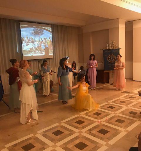 Rotary Club Melfi  Incontro rotariano: La bellezza intra et extra