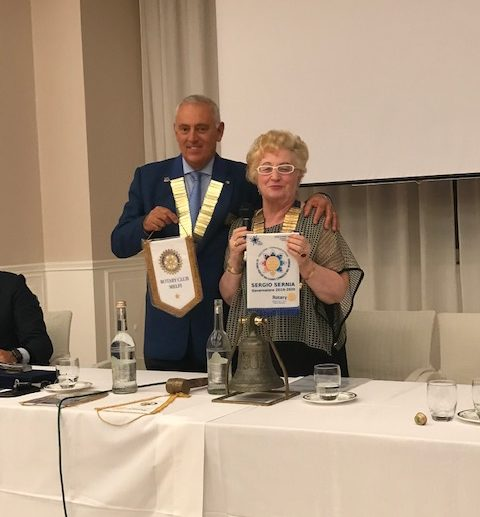 Rotary Club Melfi_Visita del Governatore Sergio Sernia