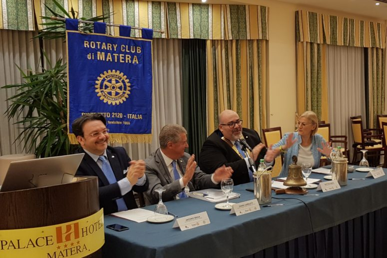 Rotary Club Matera_Conversazioni Rotariane con il District Trainer D2120, PDG Gianni Lanzilotti
