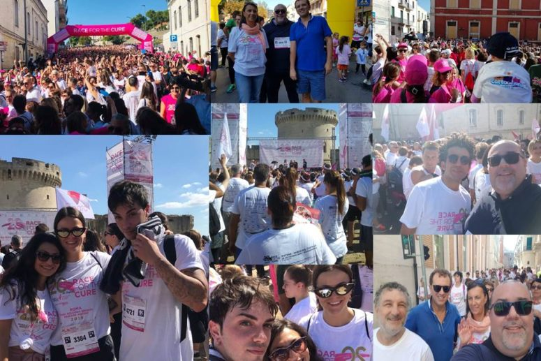 "Rotary Club Matera_""Race for the Cure"" con un proprio Team"