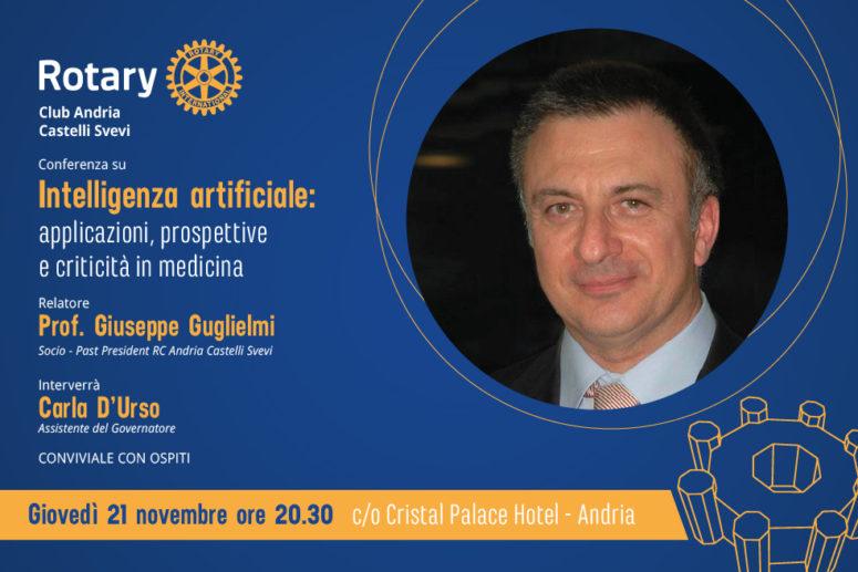 """Conferenza su """"Intelligenza artificiale: applicazioni, prospettive e criticità in medicina"""""""