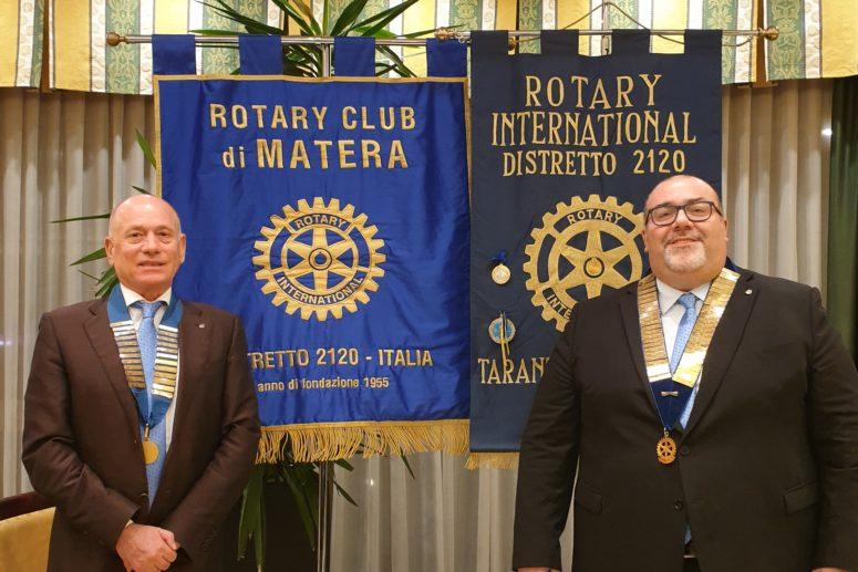 Rotary Club Matera e Rotary Club Taranto M. Grecia_ Protocollo di amicizia