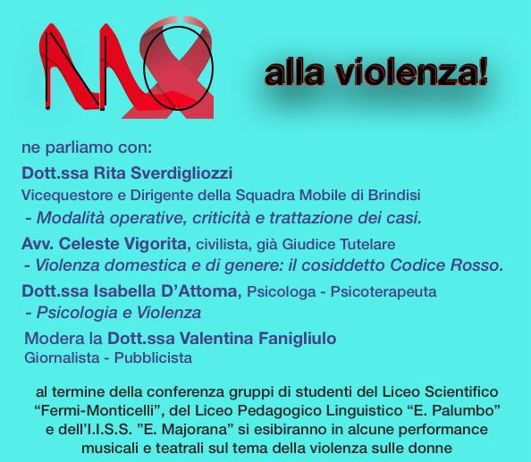 RC Brindisi Valesio_Giornata mondiale contro la violenza sulle donne