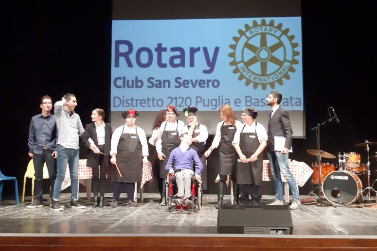 Il Rotary va in scena
