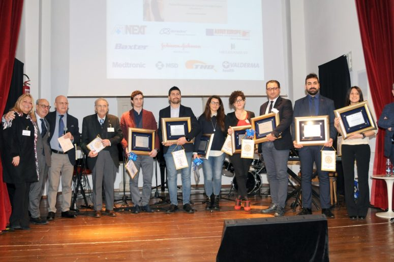 IL ROTARY CLUB FOGGIA PREMIA I GIOVANI MEDICI CHIRURGHI PUGLIESI