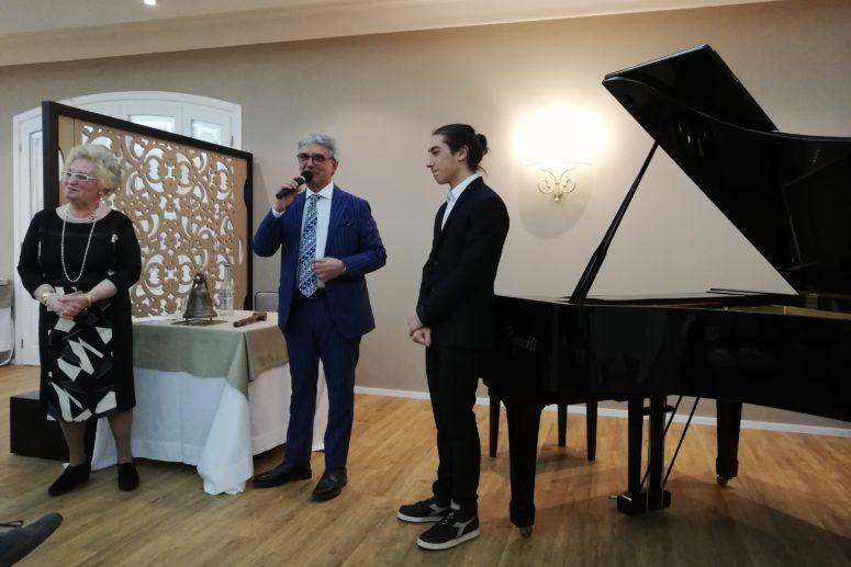 RC Melfi – Un giovane pianista, talento lucano d'eccezione
