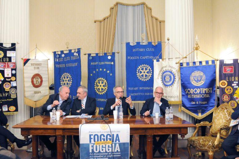 I ROTARY CLUB DI FOGGIA UNITI INCONTRANO ISTITUZIONI ED ASSOCIAZIONI SUL TEMA DELLA LEGALITA'
