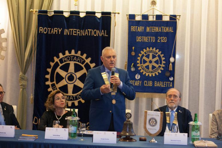 Visita del Governatore RC Barletta