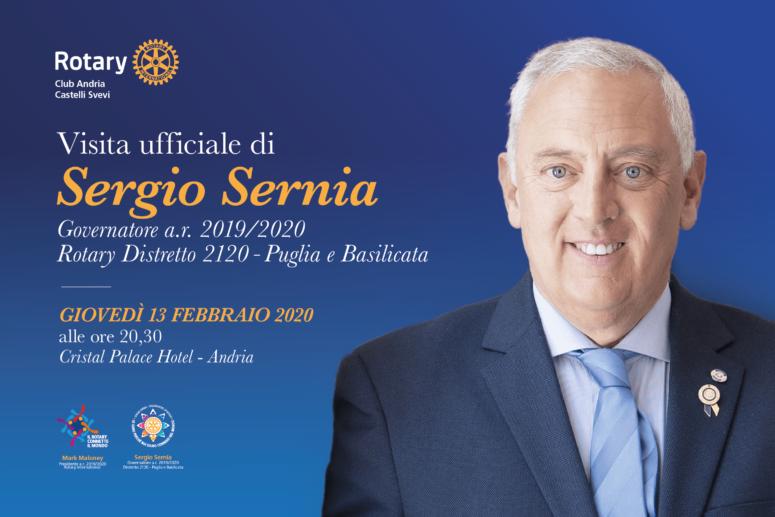 Visita ufficiale di Sergio Sernia