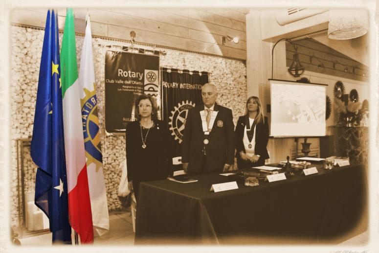 Visita del Governatore del Distretto 2120 Sergio SERNIA al R.C. Valle dell'Ofanto