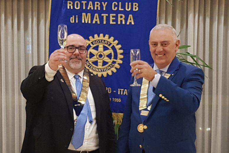 Visita del Governatore del Rotary International – Sergio Sernia al Rotary Club di Matera