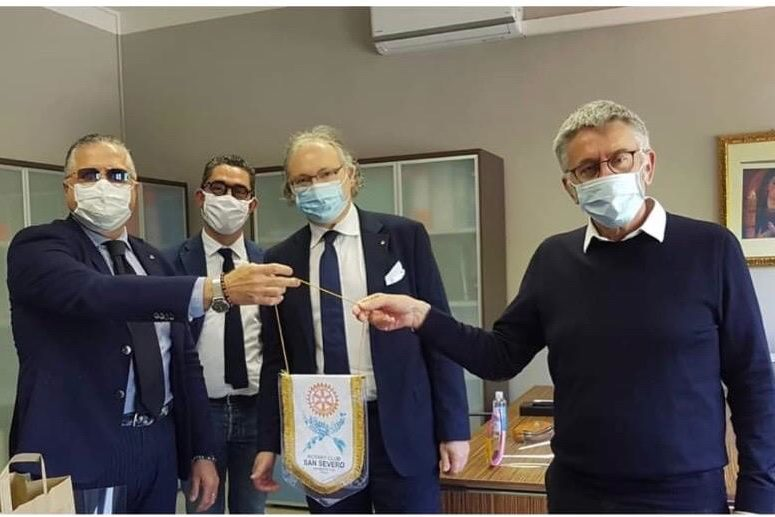 Il Rotary Club San Severo al fianco dei sanitari nella lotta al Covid-19.