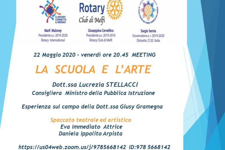 Rotary e Scuola nel dibattito al Rotary di Melfi