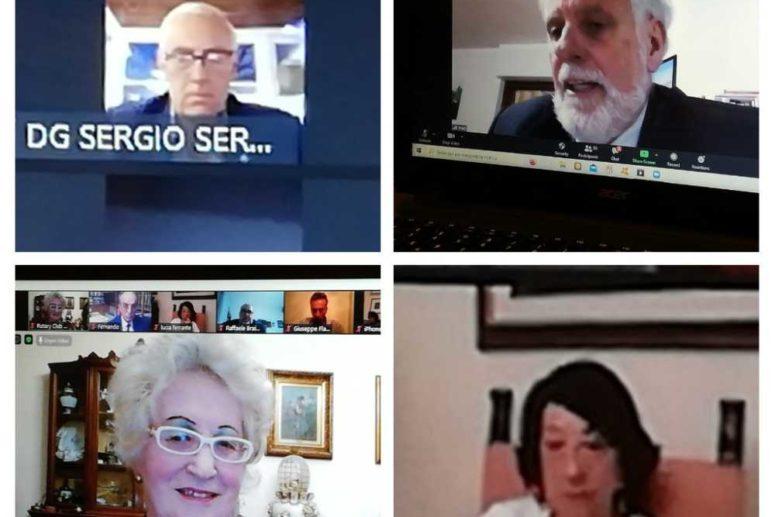 L'Eredità di Federico II in Basilicata: meeting online al Rotary di Melfi. Attribuzione della Paul Harris Fellow al Prof. Giampaolo D'Andrea