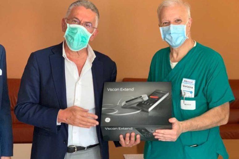 Il Distretto ed i Rotary club della provincia di Foggia donano un ecocardiografo polmonare al Policlinico di Foggia