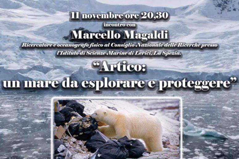 """IL CLUB FOGGIA """"U.GIORDANO"""" INCONTRA IL RICERCATORE DEL C.N.R. MARCELLO MAGALDI"""