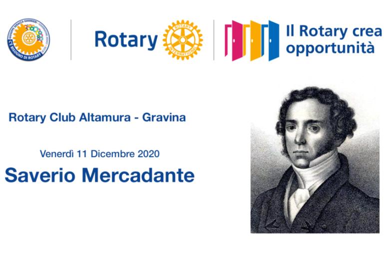 IL R.C. ALTAMURA-GRAVINA COMMEMORA I 150 ANNI DALLA MORTE DI F. S. MERCADANTE