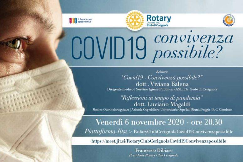 IL ROTARY CLUB CERIGNOLA E IL COVID 19