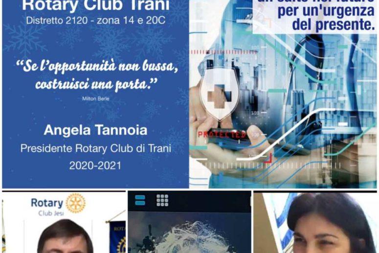 R.C. TRANI. INTERCLUB CON JESI, ANDRIA, BARLETTA E VALLE DELL'OFANTO SULLA TELEMEDICINA