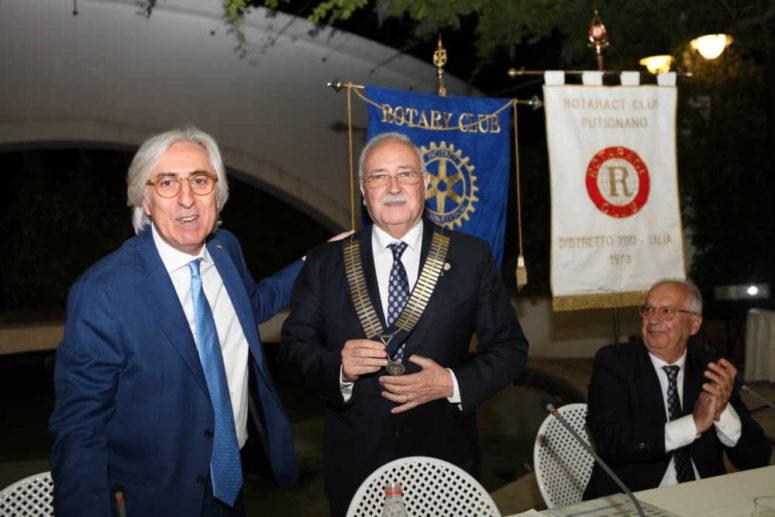 STEFANO MASTRANGELO NUOVO PRESIDENTE DEL ROTARY CLUB PUTIGNANO