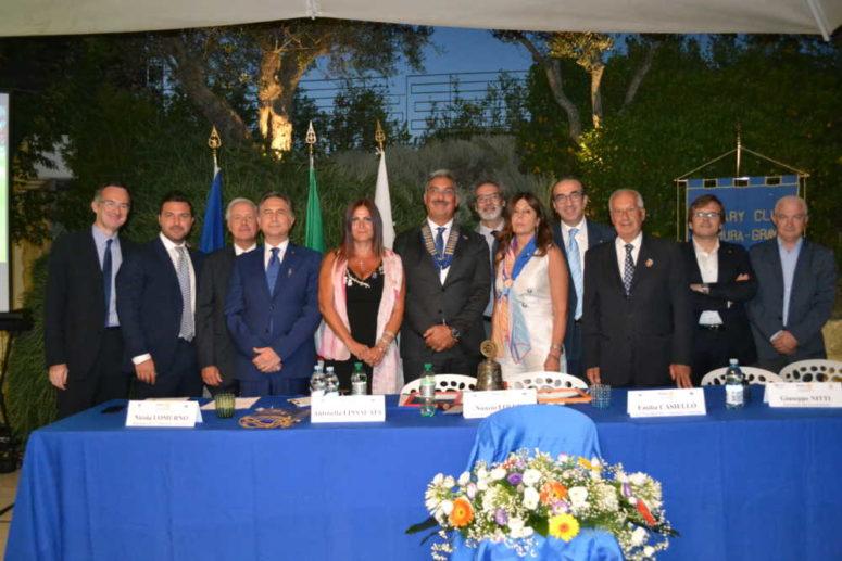 PASSAGGIO DEL MARTELLETTO E INGRESSO NUOVI SOCI AL R. C. ALTAMURA GRAVINA