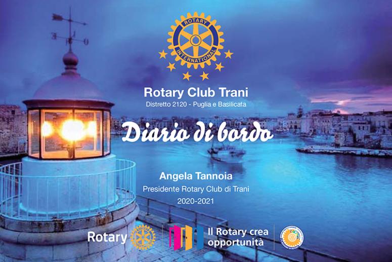 """IL """"DIARIO DI BORDO"""" DEL ROTARY CLUB TRANI"""