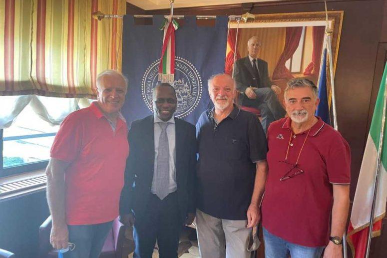 Il RC Foggia Giordano incontra il Ministro della Salute della Guinea Bissau