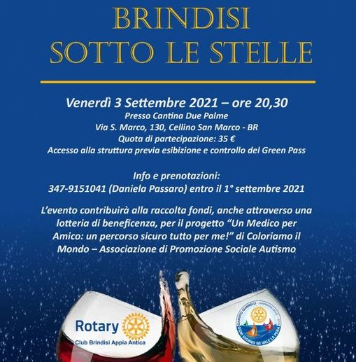 Brindisi sotto le stelle