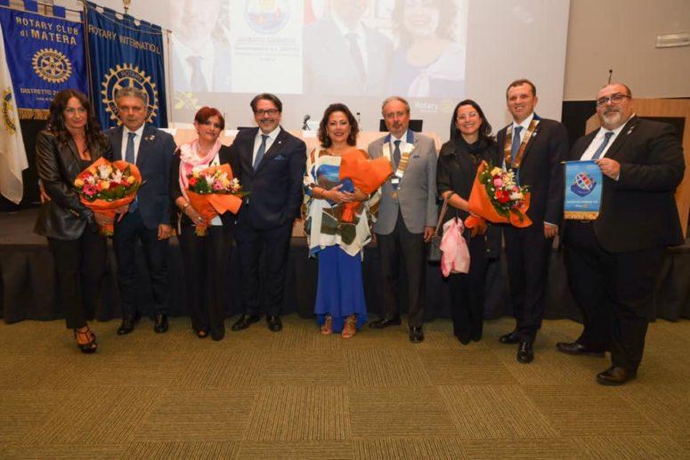 RC Matera riceve la visita del Governatore Gianvito Giannelli e gentile consorte Lilly